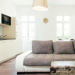 Wohn/Essbereich Appartement 1