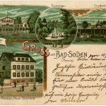 Postkarte Bad Soden 1901